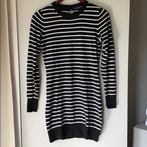French Connection Mini Sweater Dress
